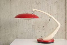 Fase Boomerang 64 1970's desk lamp by properstuff on Etsy