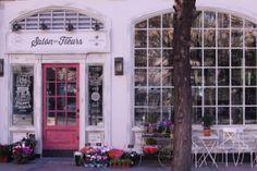 Fachada Salon des fleurs. Madrid.