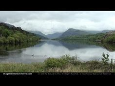 Calm Valley Lake With Misty Mountain Backdrop, Relaxing Nature Sounds Ambient Background By IRV - http://www.imagerelaxationvideos.com/calm-valley-lake-misty-mountain-backdrop-relaxing-nature-sounds-ambient-background-irv/