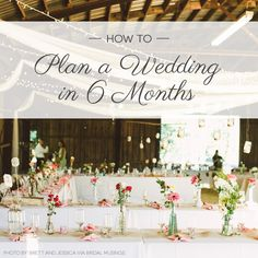 http://lover.ly/planning/wedding-planning/how-to-plan-a-wedding-in-6-months/7968/
