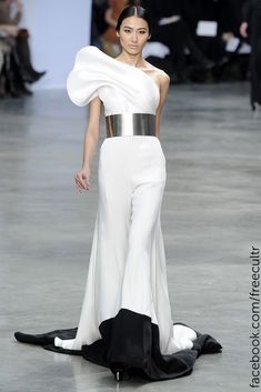 Stephane Rolland Couture Spring 2013 collection