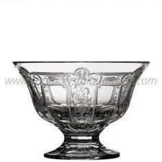 Imperial Clear Footed Bowl 8 - 288€ Whiskey Decanter, Luxury Candles, Budapest, Bowls, Candle Holders, Things To Come, Collections, Traditional, Crystals