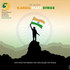 Light a candle in the memory of daring Kargil Martyr's who laid down fighting to keep us safe from every possible danger. Come let's celebrate #KargilVijayDiwas. #TSVS #ShikharStudents #SopaanStudents #AadharStudents #PranganStudents #SVN