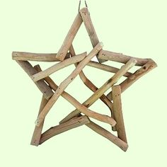 driftwood christmas ornaments | ... Ocean Styles Ornaments you'll find this large driftwood star ornament