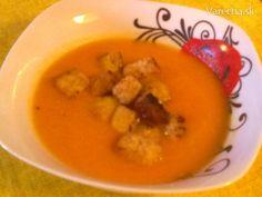 Jemná mrkvová polievka