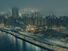 """Eerie Film Noir Scenes Captured on the Streets of NYC's Chinatown 