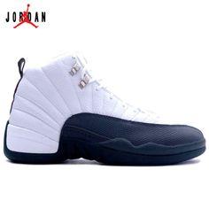 74189b804d35 136001-102 Air Jordan XII 12 Retro Mens Basketball Shoes White Flint Grey  A12009