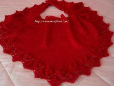 knit shawl.. şiş örgü şal modeli