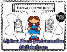 Adjetivo/protagonista/antagonista - Atividades Adriana