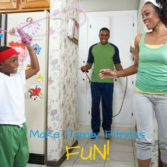 Swap that TV time for one of these fun activities that will help you stay fit and increase quality family time.