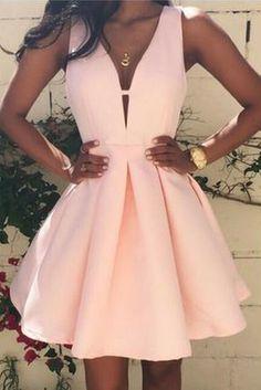 Prom Dresses For Teens, Homecoming Dresses Prom Dress,Prom Gown,Pink Homecoming Dress,Short Homecoming Dresses Dresses Modest Hoco Dresses, Trendy Dresses, Cute Dresses, Beautiful Dresses, Fashion Dresses, Summer Dresses, Dress Outfits, Mini Dresses, Dress Prom