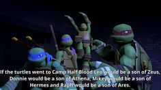 Percy Jackson and TMNT together? This day keeps getting better!