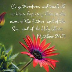 Matthew 28:19 KJV