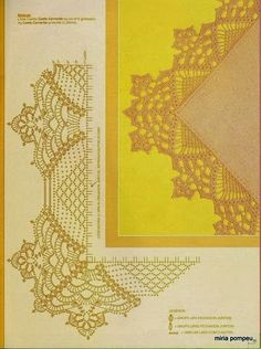Crochet: lace tablecloths