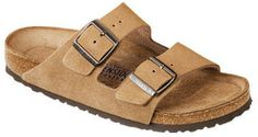 Birkenstock arizona soft footbed sandal (jasper) on shopstyle.com