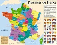Affiche/Poster : Provinces de France ::: AEDIS