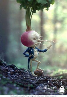 Alice Through the Looking Glass: Turnip Concept by michaelkutsche.deviantart.com on @DeviantArt