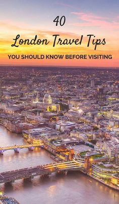 40 Quick and Helpful London Travel Tips You Need To Know Before Visiting