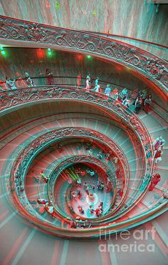 Down Stairs Anaglyph is a photograph by Stefano Senise which was uploaded on December Magic Eye Pictures, 3d Pictures, 3d Foto, Avengers Pictures, Glitch Wallpaper, Illusion Art, 3d Artist, Psychedelic Art, Fine Art America