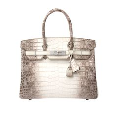 Hermes Himalayan Crocodile 30cm Birkin | MALLERIES | Handbags ...