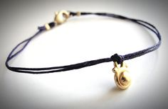 Simply pretty - - Gold Vermeil Drop bracelet. $20 from JewelryByMaeBee on Etsy.