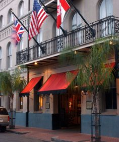 Prince Conti Hotel-  This is where Adrienne and I stayed in New Orleans.  It was a very old, quaint hotel in the French Quarter, and the the bar was called the Bombay club, where we met an interesting bartender who was really nice and full of stories.