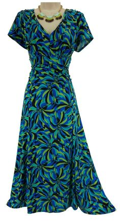 16 XL 1X Sexy ABSTRACT FLORAL RUCHED WAIST MIDI DRESS Spring Summer Plus Size #Perceptions #RuchedWaist #Versatile