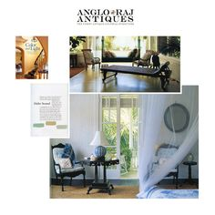 ANGLORAJ ANTIQUES | Color and Light