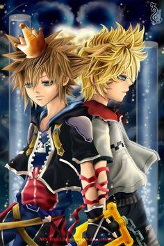 Fanart:::Kingdom Hearts:: by *Cindiq on deviantART