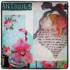 Art journal by Annabella Lullo