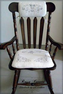 Фамильное кресло-качалка.