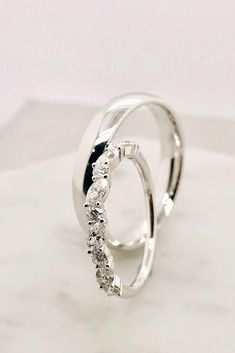 30 Uncommonly Beautiful Diamond Wedding Rings ❤ Popular jewelers created gorgeous collections with wedding rings. Browse our gallery of the most popular photo of diamond wedding rings and. Wedding Rings Sets His And Hers, His And Hers Rings, Matching Wedding Rings, Celtic Wedding Rings, Wedding Rings Simple, Beautiful Wedding Rings, White Gold Wedding Bands, Wedding Band Sets, Wedding Rings Vintage