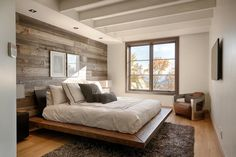 modern wood office wall - Google Search
