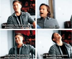 [SET OF GIFS] Jensen & Jared interview
