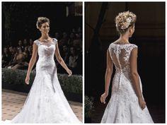Vestido de noiva romântico - Coleção 2015 Nova Noiva