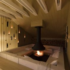 Interesting Fireplace Designs: Fireplaces give warmth and a sense of home to a house; they bring people together, making whatever room they're in an instant congregation space. Sometimes they can even be a key architectural feature, instead of being a mere decorative or simply functional object.