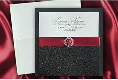 Faire Part #Mariage #Noir- #Carte mariage : Superposition de Formes, Matières et Reflets http://www.tour-babel.com/faire-part-mariage/faire-part-noir-blanc-rouge/carte-mariage-noir-rouge.html