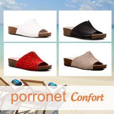 b9668f80 Qué gustito da caminar con los zuecos de Porronet Confort hechos con un  piso natural para