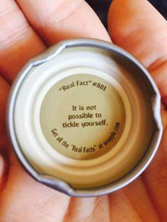 Snapple cap, real fact 801