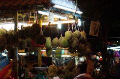 Durians in Kuala Lumpur, Malaysia