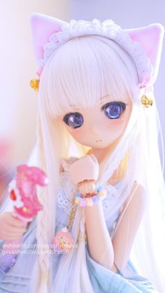 Image uploaded by 𝐆𝐄𝐘𝐀 𝐒𝐇𝐕𝐄𝐂𝐎𝐕𝐀 👣. Find images and videos about girl, fashion and cute on We Heart It - the app to get lost in what you love. Kawaii Doll, Kawaii Chibi, Ball Jointed Dolls, Pretty Dolls, Beautiful Dolls, Doll Museum, Pelo Anime, Cute Baby Dolls, Cute Cartoon Girl