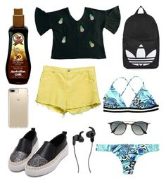 """""""Untitled #123"""" by micaelagrau on Polyvore featuring Ray-Ban, Topshop, JBL and Speck"""
