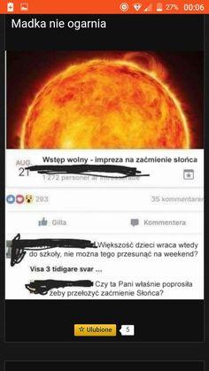 #zaćmienie myśli Wtf Funny, Funny Jokes, Hahaha Hahaha, Polish Memes, Funny Mems, Cute Comics, Best Memes, Have Time, Funny Photos