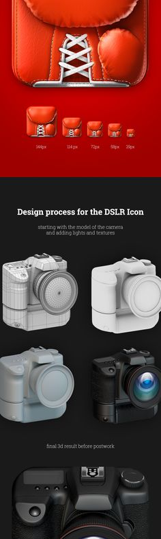 How to make boxing glove 3d icon (continuation)