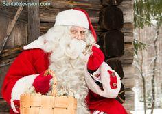 Père Noël présente les super-lichens qui aident les rennes du Père Noël à voler