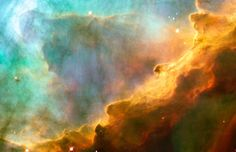 Sculpted by stellar winds and radiation, these fantastic, undulating shapes lie within the stellar nursery known as M17, the Omega Nebula, some 5,500 light-years away in the nebula-rich constellation Sagittarius