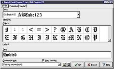 Font Engine 5.0 - Plug-in for Embird Basic
