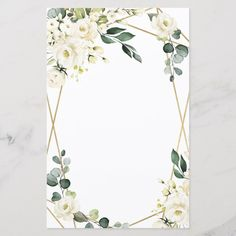 Shop Elegant Gold Geometric Floral Wedding Menu Cards created by RusticWeddings. Personalize it with photos & text or purchase as is! Blank Wedding Invitations, Wedding Menu Cards, Wedding Card Design, Wedding Invitation Templates, Floral Invitation, Hawaiian Party Decorations, Wedding Decorations, Floral Wedding, Rustic Wedding