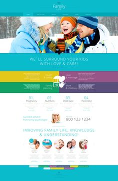 Joomla Theme , Family Center