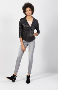 Main Image - Trouvé Jacket, Hinge Top & 7 For All Mankind® Outfit with Accessories